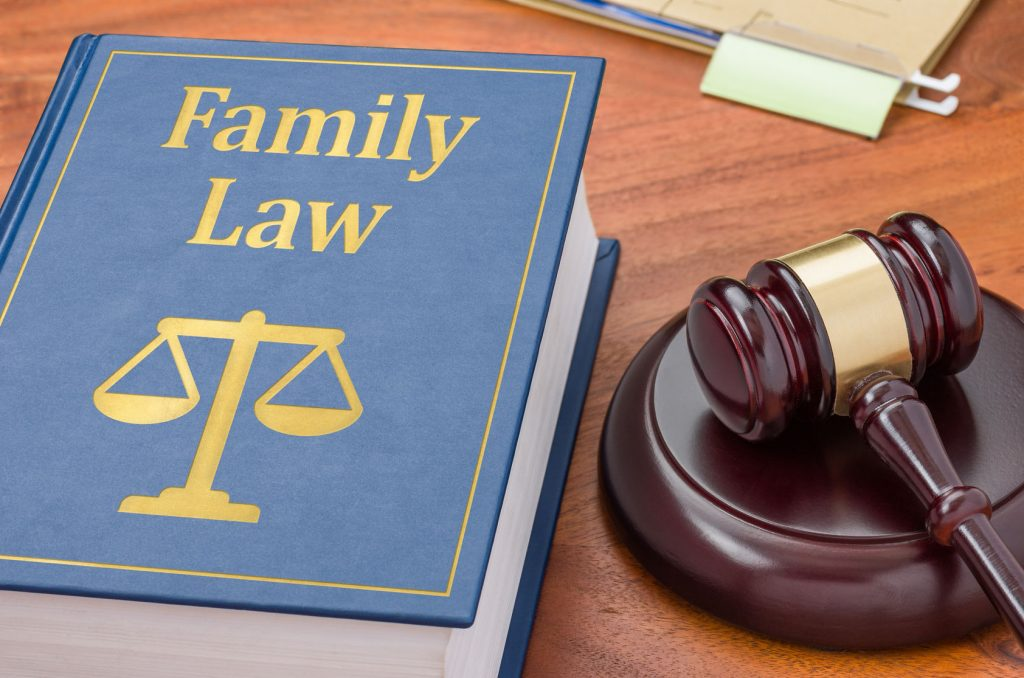 38365694 - a law book with a gavel - family law